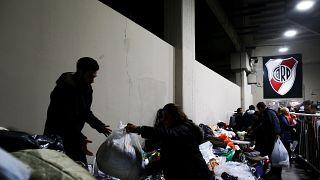 El River Plate ofrece cobijo y ayuda a los sin techo ante la ola de frío