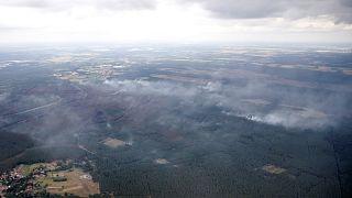 Waldbrand: Keine Entwarnung in Lübtheen