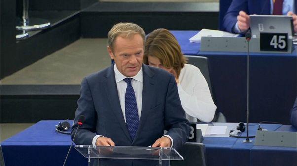Туск призвал Европарламент поддержать Урсулу фон дер Ляйен