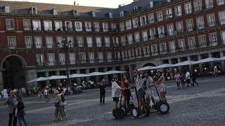 Los policías europeos patrullan en Madrid contra los carteristas este verano