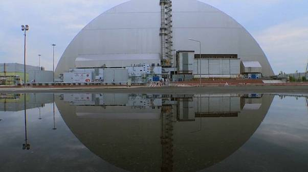 New structure built to contain famous Chernobyl reactor almost ready