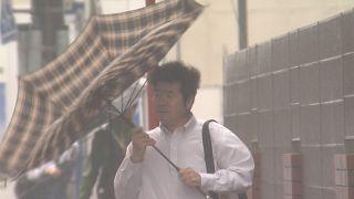 ویدئو؛ باران سیلآسا و رانش زمین در ژاپن کشته و زخمی بر جای گذاشت