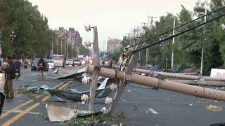 الصين. إعصار 3 تموز