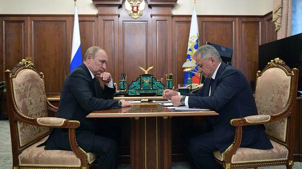 روسيا تقول إن غواصة اشتعلت فيها النيران كانت تعمل بالطاقة النووية