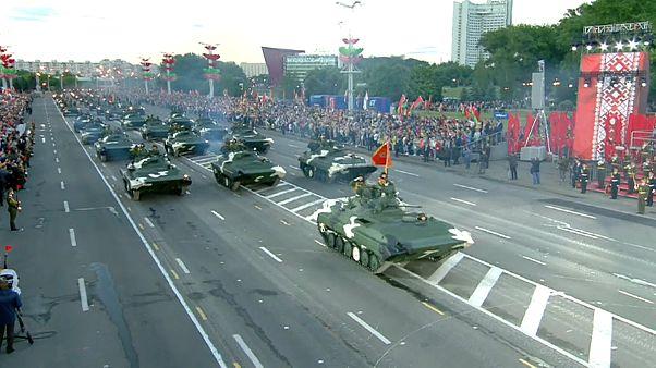 الاحتفال بالاستقلال البيلاروسي في مدينة مينسك