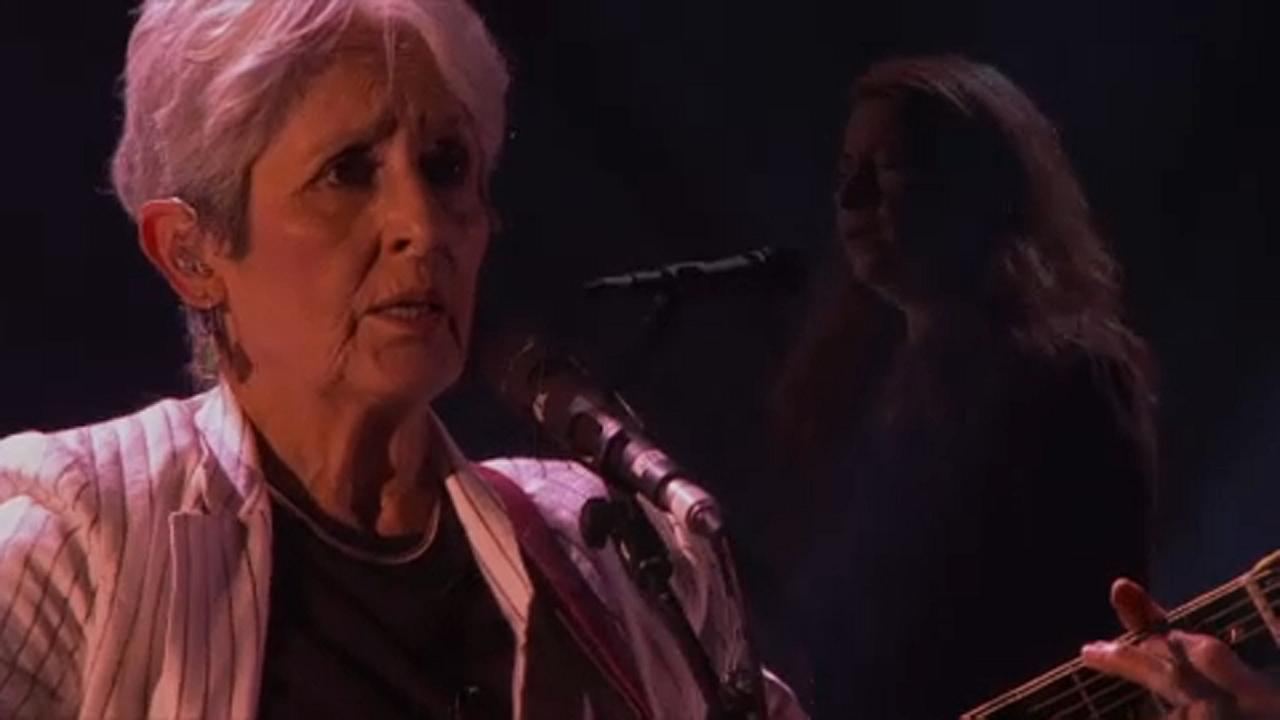 O adeus de Joan Baez ao Festival de Jazz de Montreux