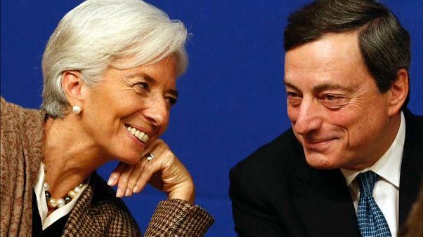 Eurozona aposta em Lagarde para relançar a economia