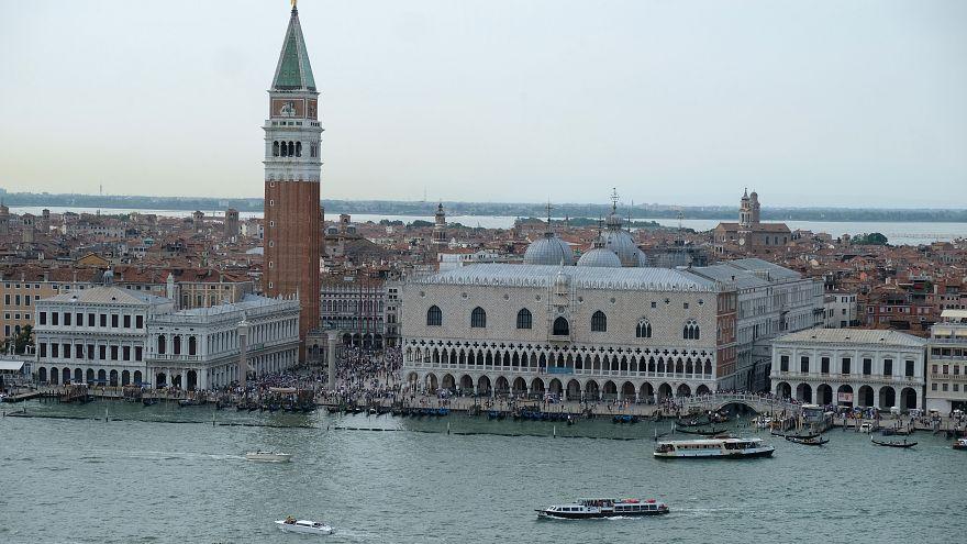 Spiderman in Venedig