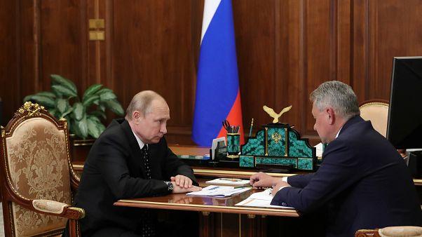 Rusya Devlet Başkanı Vladimir Putin, Savunma Bakanı Sergey Şoygu ile görüştü
