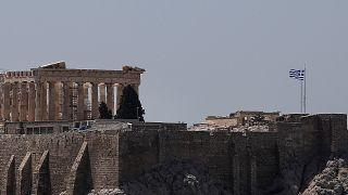 Órákra lezárták az athéni Akropoliszt a nagy meleg miatt