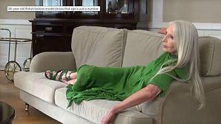 Fotoğraf galerisi: 84 yaşındaki Polonyalı manken Helena Norowicz moda dünyasında yeni bir çığır açtı