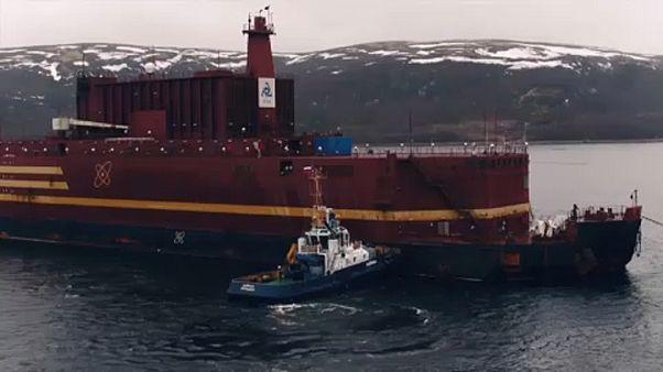 Tengeren az orosz úszó erőmű