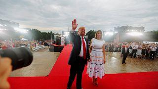 US-Unabhängigkeitstag: Trump beschwört militärische Stärke und Nationalstolz