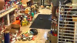Forte sismo abala sul da Califórnia