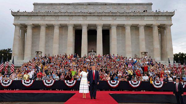ترامپ در سخنرانی روز ملی استقلال: امروز از همیشه قدرتمندتریم