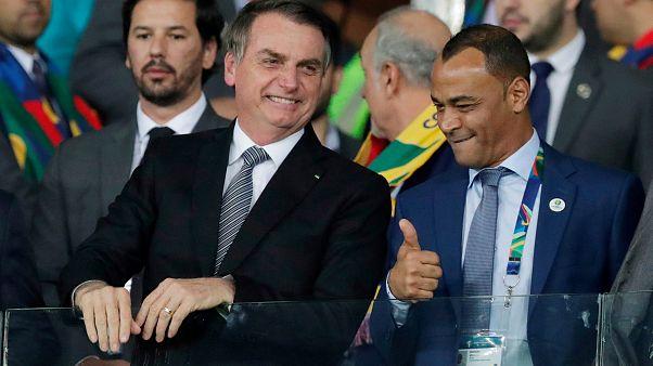 Bolsonaro ignora desflorestação da Amazónia