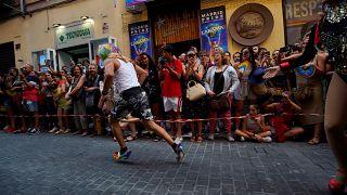شاهد: سباق الكعوب العالية في مدريد في إطار احتفالات فخر المثليين