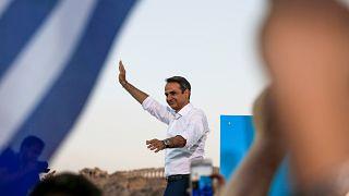 Győzelemre számít a görög Új Demokrácia