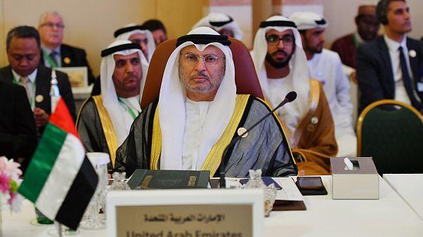 قرقاش يعلن وقوف الإمارات مع السودان ويتمنى تأسيس نظام دستوري راسخ