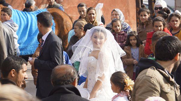 Edirne'de, çocuk yaşta evliliklerin önüne geçmek için hazırlanan proje kapsamında kısa film çekildi