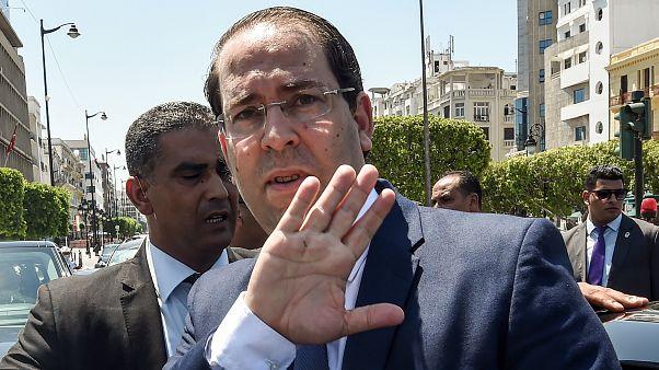 رئيس الوزراء التونسي يوسف الشاهد. حزيران 2019