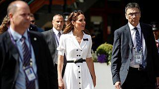 How to recreate the Duchess of Cambridge's Wimbledon Bright Whites