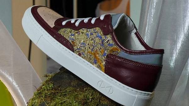 A sneaker made from hay, by Nat-2