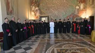 Понтифик встретился с делегацией украинской греко-католической церкви