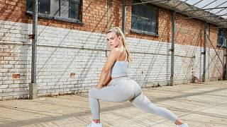 EXCLUSIVE: Grace Beverley on her game-changing sustainable activewear