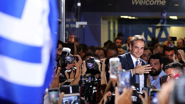 Législatives en Grèce : Mitsotakis futur Premier ministre