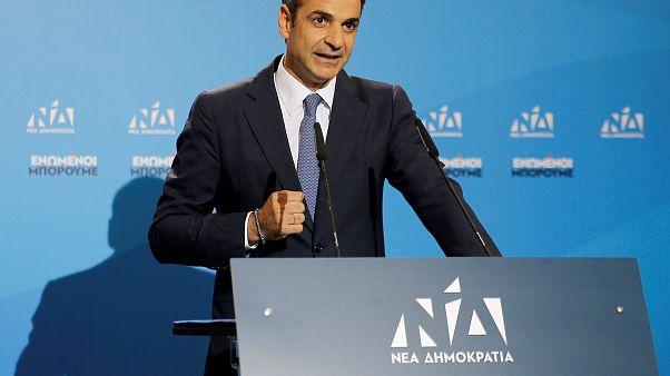 Kyriakos Mitsotakis gewinnt mit Nea Dimokratia die Parlamentswahl
