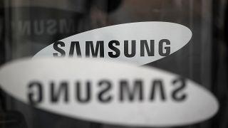 شعار الشركة الكورية سامسونغ للإلكترونيات