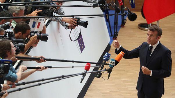 Fransa Cumhurbaşkanı Macron'dan geri adım: Basın odası Elysee'den taşınmayacak