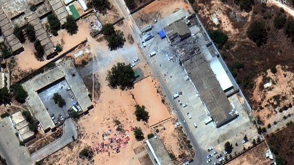 دولت لیبی جنگنده «اف-۱۶» امارات را مسئول حمله به اردوگاه پناهجویان دانست
