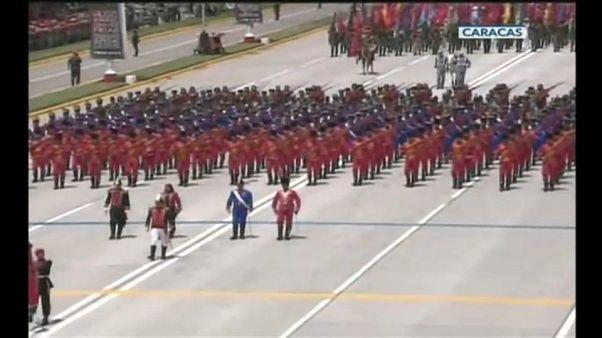 Fiesta nacional en Venezuela bajo tensión
