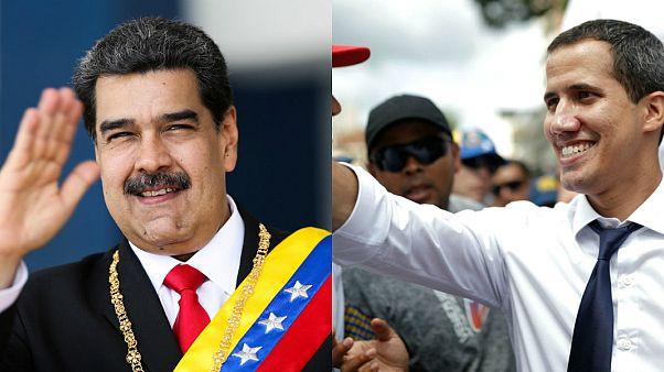 Venezuela Devlet Başkanı Nicolas Maduro / muhalif lider Juan Guaido