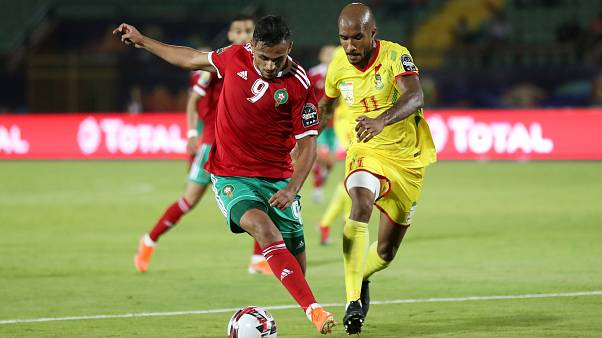 لقاء ثمن نهائي كأس إفريقيا للأمم 2019 بين المغرب وبنين في مصر