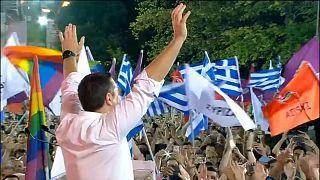 Kampányzárás Görögországban: nagy versenyfutás