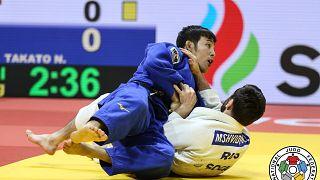 Naohisa Takato (Japan) vs. Robert Mshvidobadze (Russland)