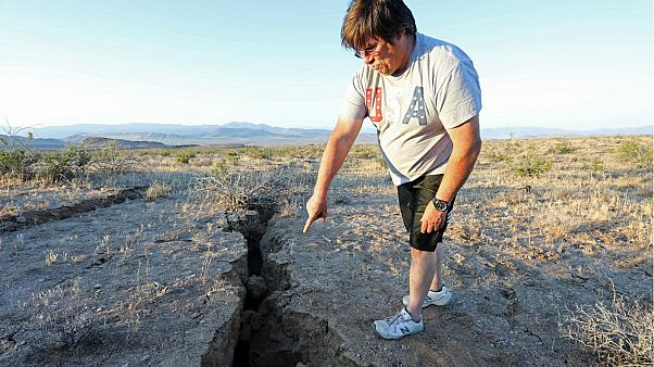 Землетрясение на юге Калифорнии