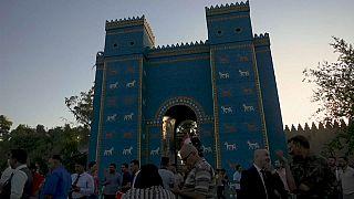 شاهد: اليونسكو تدرج موقع بابل الاثري في العراق في قائمة التراث العالمي