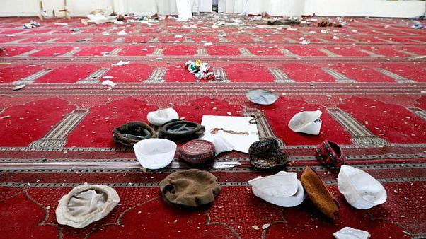 عکس تزئینی و مربوط به انفجاری در مسجدی در کابل در ۲۴ ماه مه سالجاری است