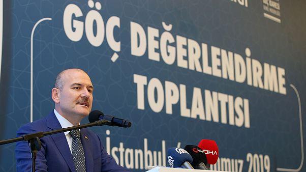 Süleyman Soylu: İstanbul Suriyeli kaydına kapalıdır