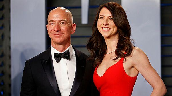 طلاق ۳۸ میلیارد دلاری مدیر آمازون؛ همسر سابق به جایگاه ۲۲ در فهرست میلیاردرها رسید