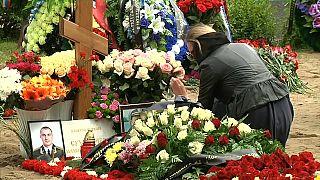 Incendie d'un sous-marin russe : des funérailles discrètes pour les 14 officiers russes tués