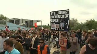 A Berlino e in molte città tedesche si sono svolte manifestazioni pro Carola