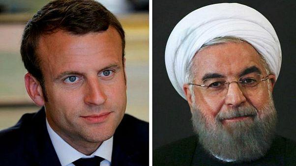 کاخ الیزه: ماکرون و روحانی توافق کردند تا شرایط از سرگیری گفتگو بین همه طرفها را بررسی کنند