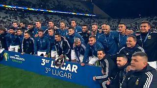 Copa América: battuto il Cile, l'Argentina è terza