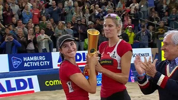Canadá conquista título mundial em voleibol de praia