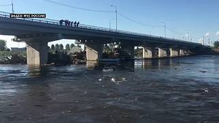Тулун: ликвидация последствий паводка